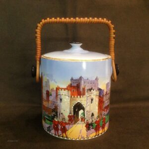 Ceramic biscuit box- Tower of London