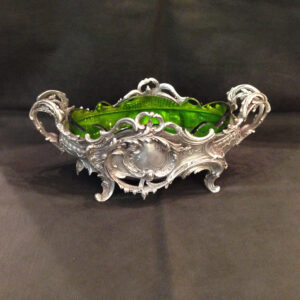 silver plated fruit dish/jardinière