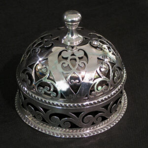 Rare sterling silver table bell.