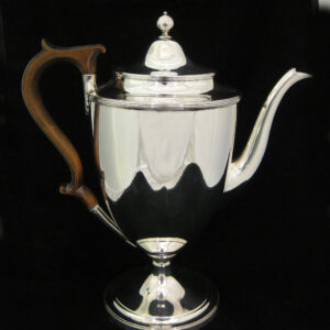 George the 3rd Silver coffee pot 1795.