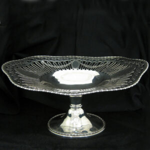 A stunning silver tazza.